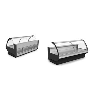 Refrigerated Serve-Over Counter With Storage KAN900 CG/CB (0/+5°C) Dimension, L: 937mm