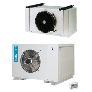 LB - Horizontal commercial bi-block refrigeration units