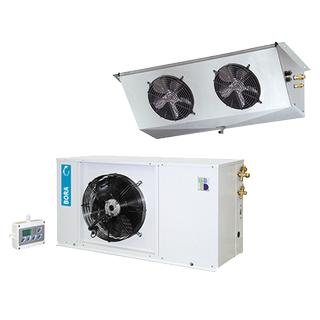 HT - Low noise commercial bi-block units